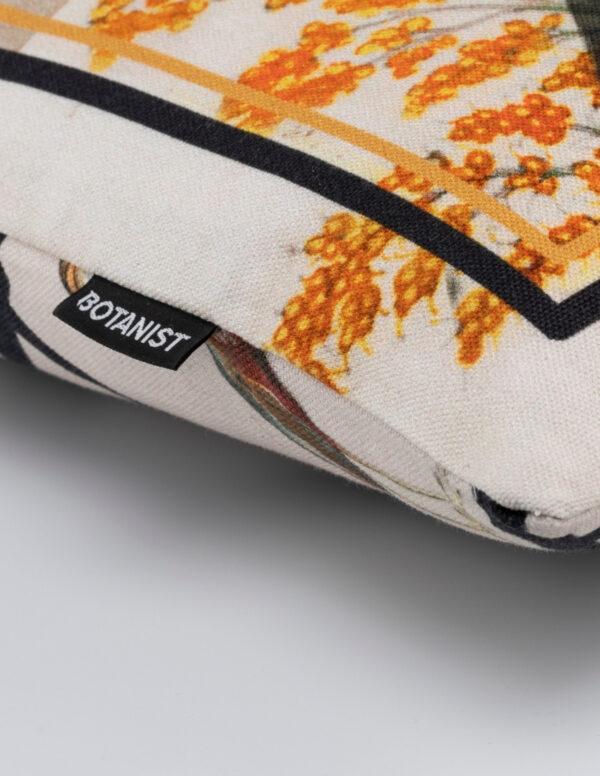 Kissenecke Detail Reiher