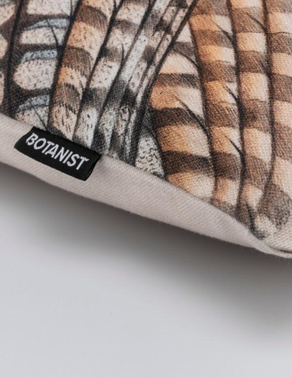 Kissenecke Detail Eule Schlange